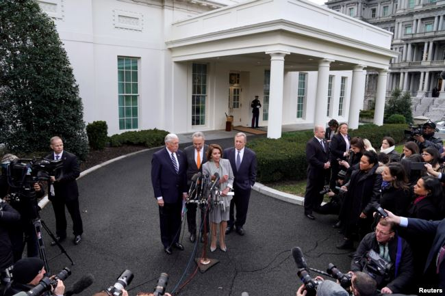 Trump Walks Out of Meeting After Democrats Refuse Border Wall Funding
