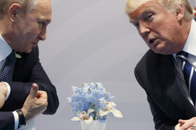 Trump: I Never Worked for Russia'