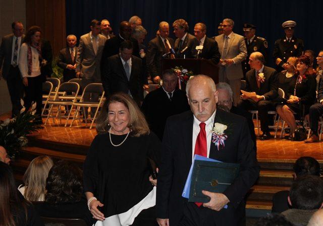 Inauguration of Mayor Joseph Polisena and the Johnston Town Council