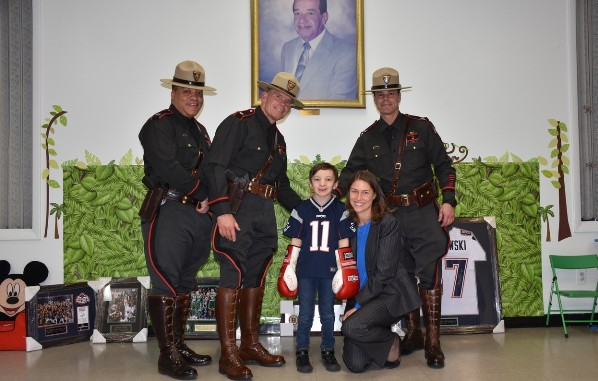 RI State Police and Impossible Dream bring people together to help fulfill 10-year-old's dream
