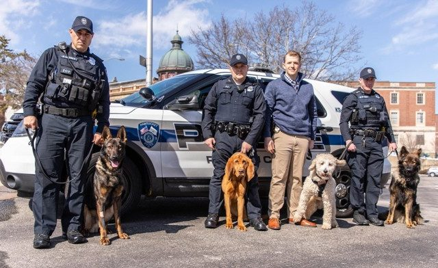 Pet Food Experts Volunteers to Feed Four Newly Acquired Pawtucket K9 Officers