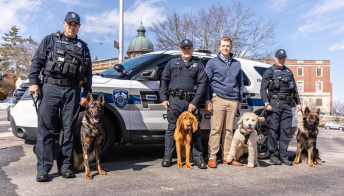 Pet Food Experts Volunteers to Feed Four Newly Acquired Pawtucket K9