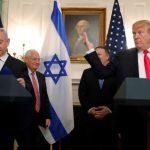 Trump firma decreto que reconoce soberanía de Israel en los Altos del Golán