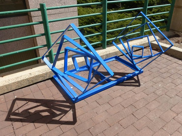 State Arts Council Commissions Artist-Designed Bike Racks for State Administration Building
