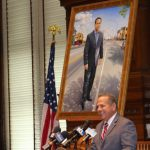 Official Portrait of Former Mayor David Cicilline Unveiled