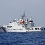 USS Preble Sails Near Scarborough Shoal in South China Sea