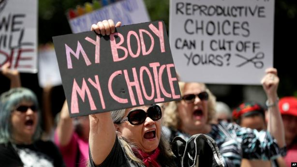 US Abortion Rights Supporters Rally Nationwide