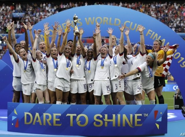 US Women's Soccer Team Revels in World Cup Victory