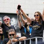 Nueva York: Reciben por todo lo alto a Equipo femenino de fútbol de EE.UU