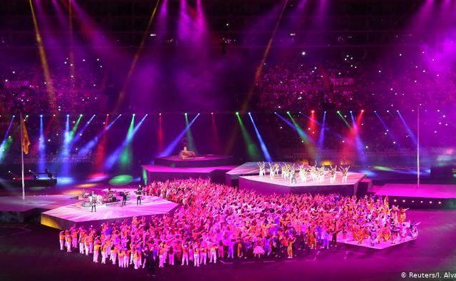Folclor y danza marcan fin de los Juegos Panamericanos