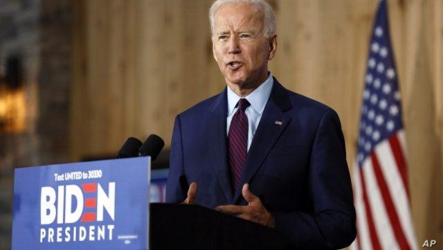 Democratic Frontrunner Biden's Verbal Gaffes Mounting