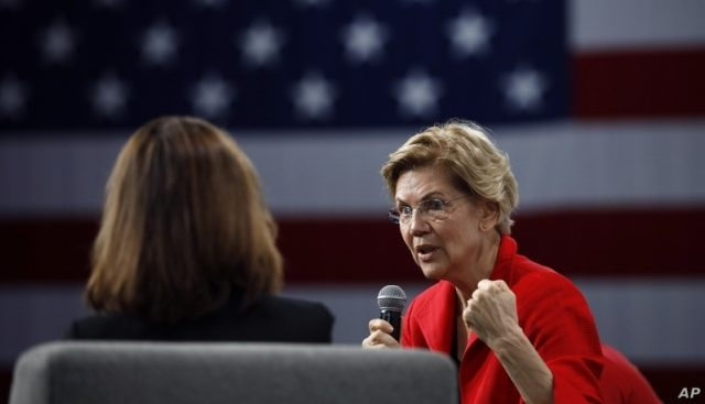 Warren Wows in Iowa As Candidates' Sprint To Caucuses Begins