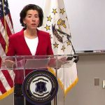 Sesión informativa sobre el coronavirus con Gina Raimondo gobernadora de  Rhode Island