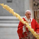 Pope Celebrates Palm Sunday Mass Without Public in St. Peter's
