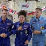 Astronauts Returning to a Changed Earth Amid Pandemic