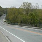 RIDOT CLOSING MANVILLE BRIDGE OVER THE BLACKSTONE RIVER  IN LINCOLN & CUMBERLAND