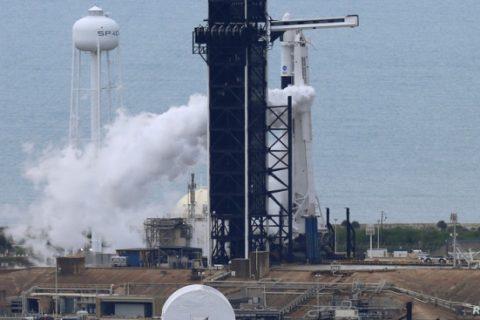 La NASA intenta de nuevo el lanzamiento del Falcon 9 de SpaceX