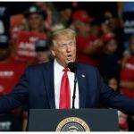Las protestas, el coronavirus, China y Biden en primer mitin de campaña de Trump