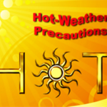 RIDOH Urges Precautions to Prevent Heat-related Illness