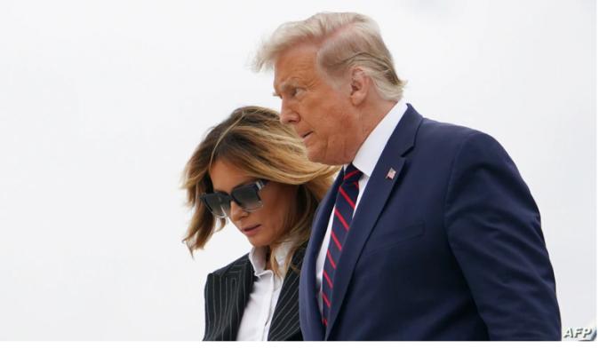 Presidente Trump y primera dama dan positivo a COVID-19