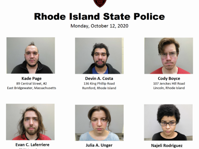 Rhode Island State Police Arrest Seven for Blocking Highway