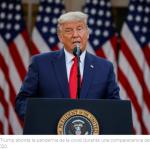 """Trump reafirma su estrategia contra la pandemia: """"Esta Administración no adoptará un nuevo cierre"""""""