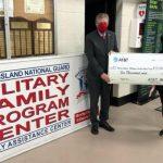 El vicegobernador McKee acepta la donación de $ 10,000 de AT&T al Fondo de ayuda para familias militares de Rhode Island