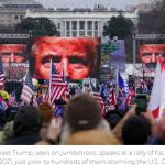 Dos republicanos clave en desacuerdo sobre juicio político a Trump