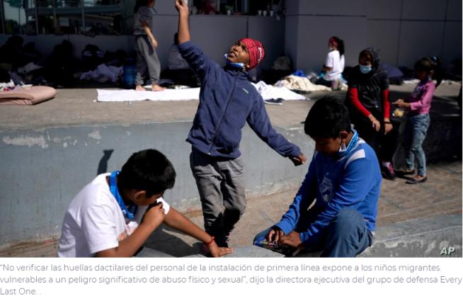 EE. UU. permite que cuidadores en centros para menores inmigrantes no pasen verificación de antecedentes