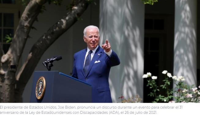 """Biden asegura a los latinos que su """"Administración siempre los respaldará"""""""