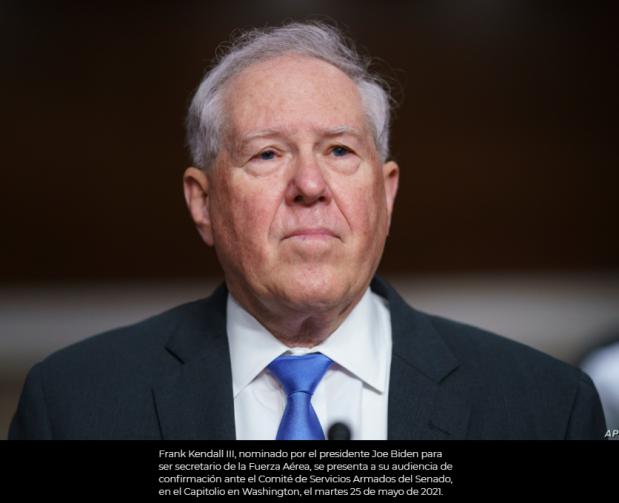 Senado confirma nuevo secretario de la Fuerza Aérea de Estados Unidos