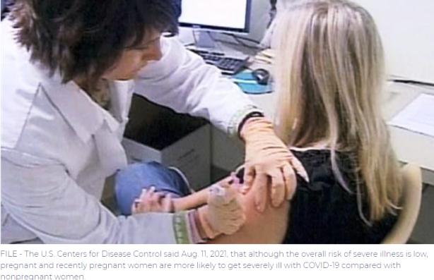 Los CDC recomiendan vacunas COVID-19 para mujeres embarazadas