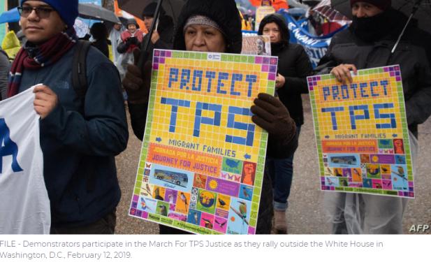 Continúan las incertidumbres para los titulares de un 'estatus de protección temporal' en EE. UU.